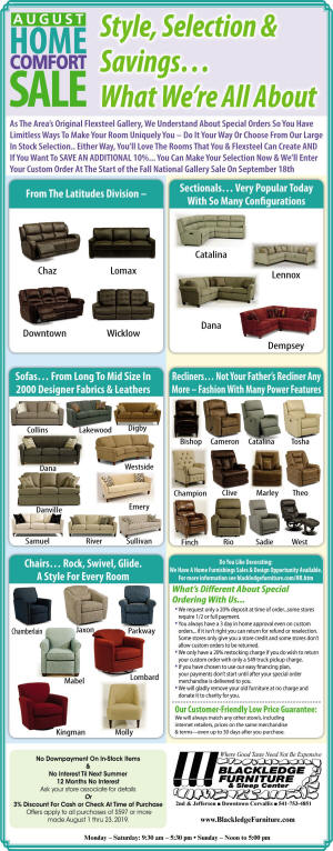 Upholstery Specials